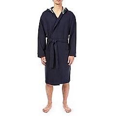 Burton - Navy jersey robe