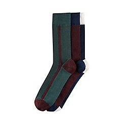 Burton - 3 pack vertical stripe socks