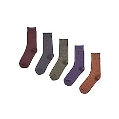 Burton - 5 pack pre-twist assorted socks