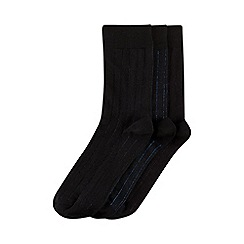 Burton - 3 pack shadow striped socks