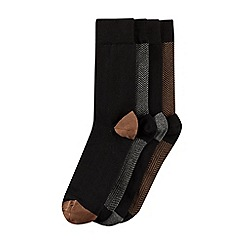 Burton - 4 pack herringbone design socks