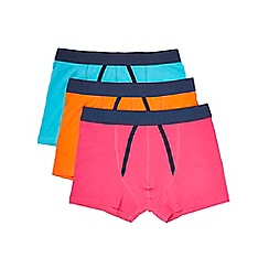 Burton - 3 pack orange, pink & teal trunks
