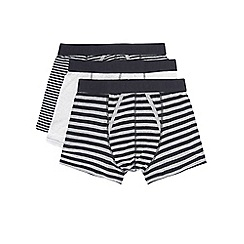 Burton - 3 pack grey, charcoal & black trunks