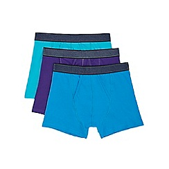 Burton - 3 pack teal, purple and blue trunks