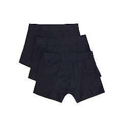 Burton - 3 pack navy trunks