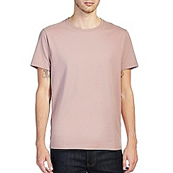 Burton - Dusky pink crew neck t-shirt
