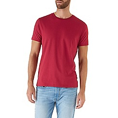 Burton - Red basic crew neck t-shirt
