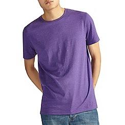 Burton - Purple marl crew t-shirt