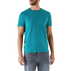 Burton - Green basic crew neck t-shirt