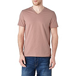 Burton - Pink v-neck t-shirt