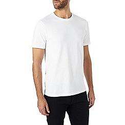 Burton - White basic crew neck t-shirt