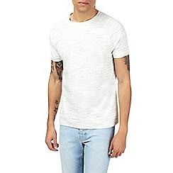 Burton - Ecru short sleeve t-shirt