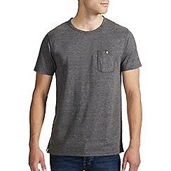 Burton - Charcoal marl crew neck t-shirt
