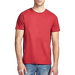 Burton - Bright red crew t-shirt