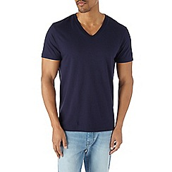 Burton - Navy v-neck t-shirt*