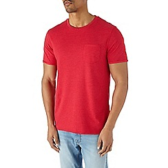 Burton - Red roll sleeve t-shirt*