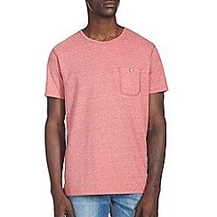 Burton - Red trimarl crew t-shirt