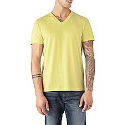 Burton - Yellow v-neck t-shirt*