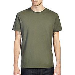 Burton - Khaki green crew t-shirt