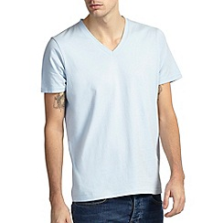 Burton - Sky blue v - neck t-shirt
