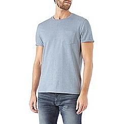 Burton - Light blue roll sleeve t-shirt
