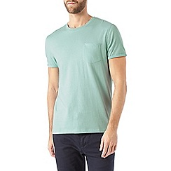 Burton - Green roll sleeve t-shirt