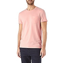Burton - Pink roll sleeve t-shirt