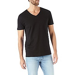 Burton - Black v-neck t-shirt