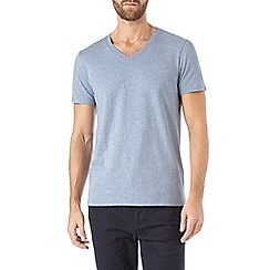 Burton - Light blue v-neck t-shirt