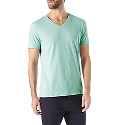 Burton - Light green v-neck t-shirt