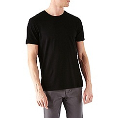Burton - 4 pack black and white crew neck t-shirt