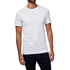 Burton - White slim fit t-shirt