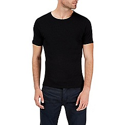 Burton - Black muscle fit t-shirt
