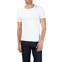 Burton - White muscle fit t-shirt