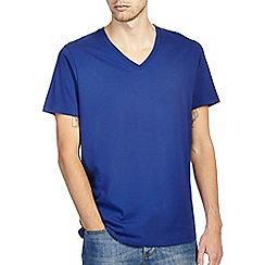 Burton - Royal blue v - neck t-shirt