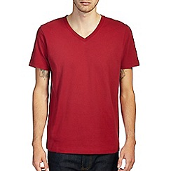 Burton - Bright red v - neck t-shirt