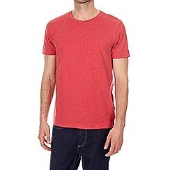 Burton - Red marl crew neck t-shirt