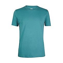 Burton - Green basic crew neck t-shirt