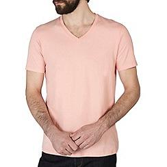 Burton - Peach v neck t-shirt*