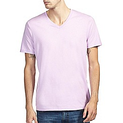 Burton - Violet v neck t-shirt