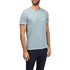Burton - Cadet blue crew neck t-shirt