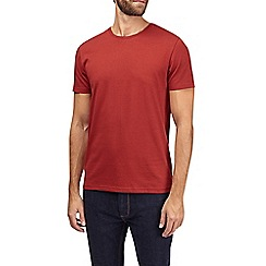 Burton - Brick red crew neck t-shirt
