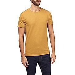 Burton - Mustard crew neck t-shirt
