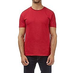 Burton - Red crew neck t-shirt