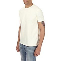 Burton - Pastel yellow crew neck t-shirt