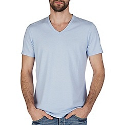 Burton - Light blue v neck t-shirt