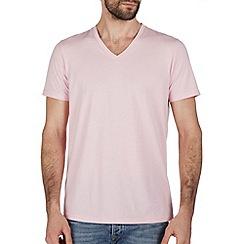 Burton - Pink v neck t-shirt