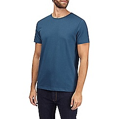 Burton - Petrol blue crew neck t-shirt