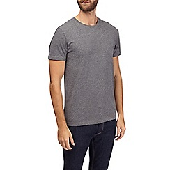 Burton - Charcoal grey crew neck t-shirt