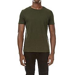 Burton - Forest green crew neck t-shirt